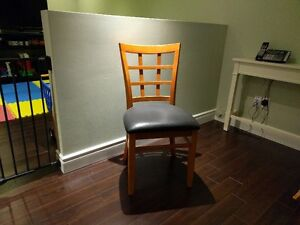 SP SOLID WOOD FRAME DINING CHAIRS