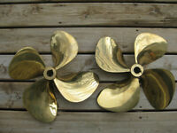 Bronze counter-rotating Propellers