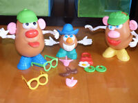 Famille Patate + accessoires