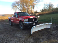 Residential and Small Commercial Snow Plowing