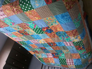 Homemade quilt