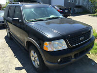 FORD EXPLORER XLT 2002 - CUIR