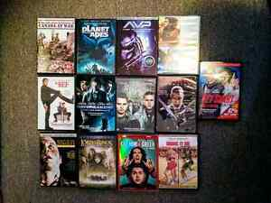 13 DVDs for sale