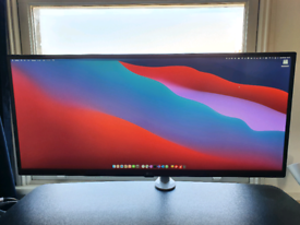 LG 34WL750 34 WQHD Ultra wide monitor with stand