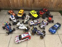 Wanted RC radio controlled cars nitro battery brushless good price paid