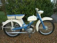 NSU QUICKLY 50CC TWO SPEED, 1965, IN LOVELY RESTORED CONDITION