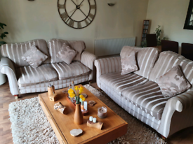 Two quality three seater sofas for sale