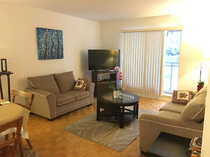 Spacious 3.5 furnished apartment in NDG for sublet