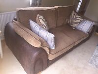3 seater and single seater sofa