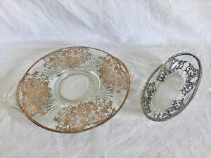 Antique Dining Platter and Dish Set