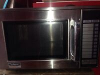 Commercial Sharp microwave /catering