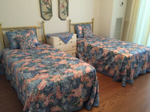 Twin beds - rarely used