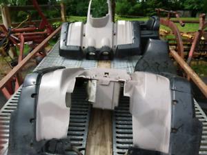 Pièces de carrosserie de VTT Kodiak Yamaha 93