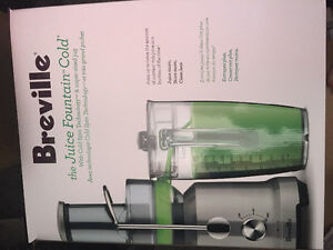 "Breville ""The juice fountain cold"" juicer"