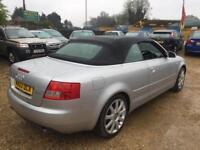 2003 Audi A4 Cabriolet 1.8T Sport petrol manual