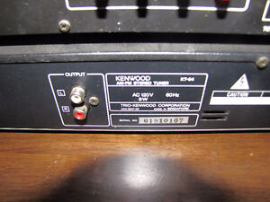 Kenwood KA-54 Stereo Intergrated Receiver and Tuner Peterborough Peterborough Area image 3