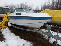 22ft boat and trailer
