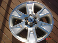 "2012 Ford F150 FX4 Alum. OEM 20""x 6 bolt x 6 spoke rims no tires"