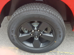 """New 20"""" Dodge Ram 1500 Wheels and Tires Mint Condition"""