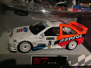 1/18 DIECAST UT/MINICHAMPS FORD ESCORT COSWORTH WRC SAINZ NEW