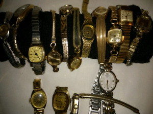 Vintage watches for sale make me an offer !