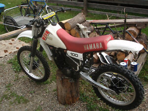 1981 yamaha yz 100/trade for street legal honda Prince George British Columbia image 1