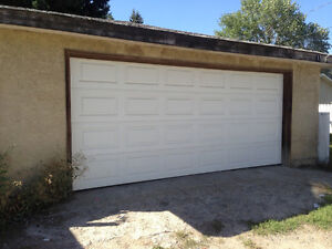OVERSIZE Dbl Garage, Insulated, Powered, Southview(SE), June 1st