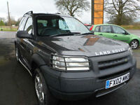 Land Rover Freelander 2.0 2002 TD4 ES