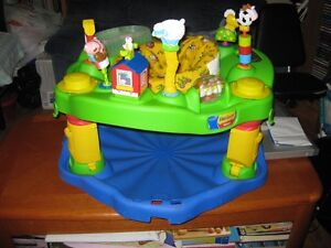 farm theme exersaucer