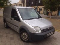 2008 Ford Transit Connect Silver 1.8 TDCi turbo diesel 2 keys service history new Mot 106,000 miles