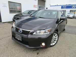 2012 Lexus CT 200h-PREMIUM PCKG! CLEAN CARPROOF!WARRANTY!$15,995
