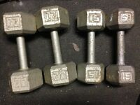 Poids libres, dumbell, weight