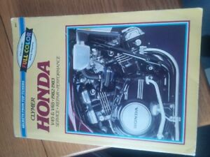 Clymer repair manual. Honda v45 v65 magna and sabre.