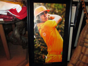Rickie Fowler Large Framed Canvas