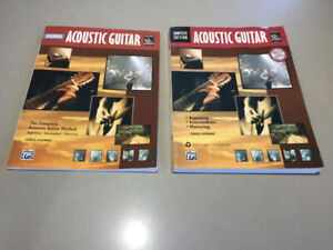 Learning Acoustic Guitar Lesson Books