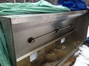 Kitchen Exhaust Hood For Sale