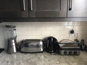 Toaster blender panini grill