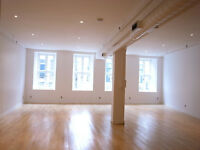 Beautiful, bright office space/loft in the heart of Old Montreal