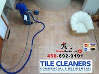 Nettoyage de ceramique et du coulis Tile and Grout cleaning