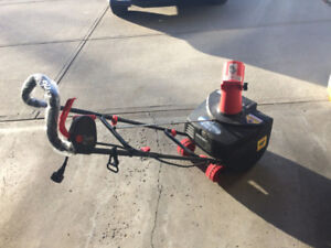 Electric Snow Thrower with light