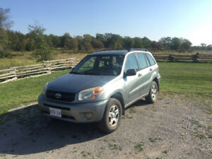 5-speed 2005 Toyota RAV4