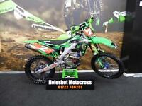 Kawasaki KX250F Motocross bike Very clean example Pro circuit pipe