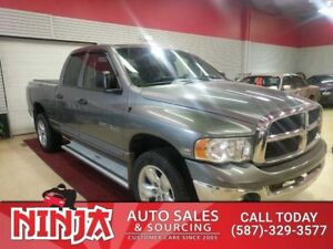 2005 Dodge Ram 1500  SLT Quad Cab 4x4 Low Km