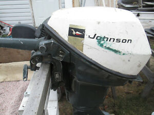 9.5 HP JOHNSON Outboard