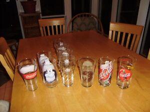 VINTAGE COCA COLA GLASSES Windsor Region Ontario image 3