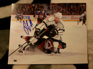 Jeff Carter Autographed 8x10 Photo For Sale