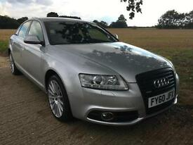 2010 AUDI A6 2.0 TDI S-LINE TURBO DIESEL AUTO 33K MILES!! NEW TYRES AUTOMATIC A4