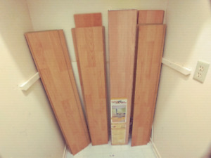 Laminated flooring to give away