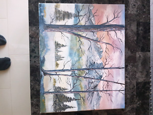 Landscape painting *Reduced Price*