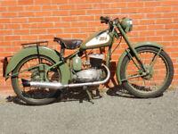 BSA BANTAM 125cc 1956